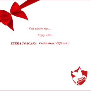 TERRA TOSCANA Cadeaubon