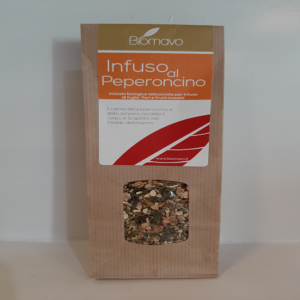 tisane met chilipeper-infusion with chillipepper