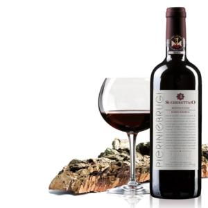Biologische rode wijn reserve Sugherettaio- Organic red wine reserve Sugherettaio