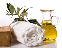 Cosmetics with organic Olive Oil