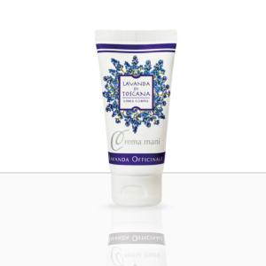 Handcrème met Lavendel en Olijfolie-Hand cream with lavender and oliveoil