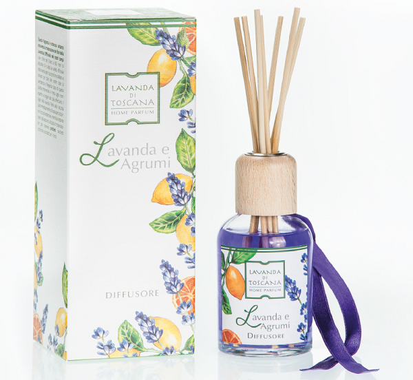geurstokjes lavendel en citrus-fragrance sticks lavender and citrus