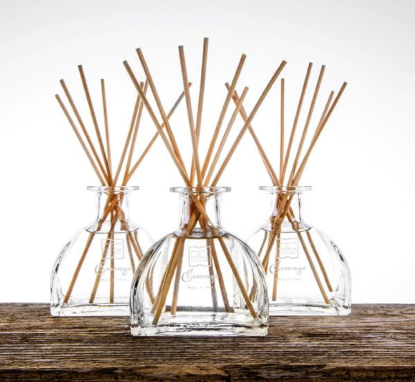 geurstokjes glas model Salus-fragrance sticks glass model Salus