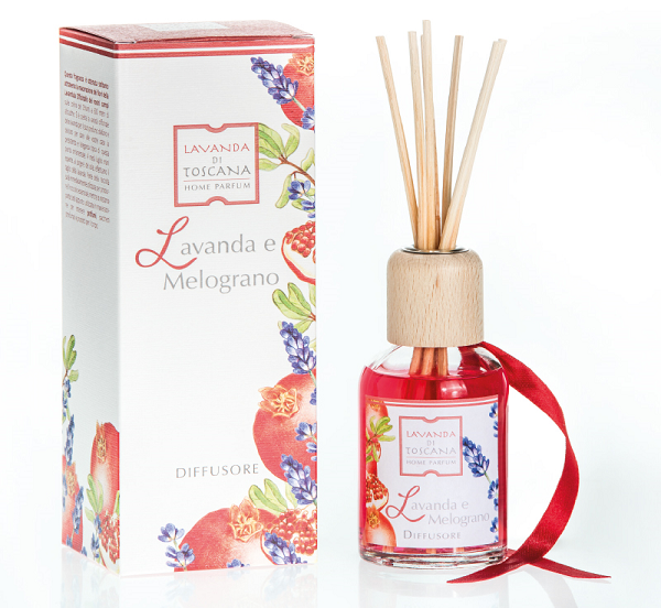 geurstokjes lavendel en appelgranaat-fragrance sticks lavender and pomegranate