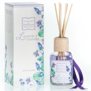 geurstokjes lavendel en violetta -fragrance sticks lavender and Violet