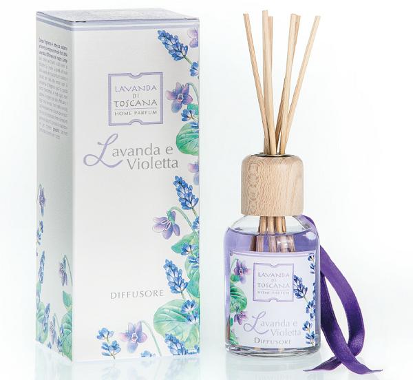 geurstokjes lavendel en violetta -fragrance sticks lavender and Violet