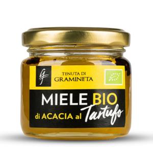 biologische acaciahoning met truffel