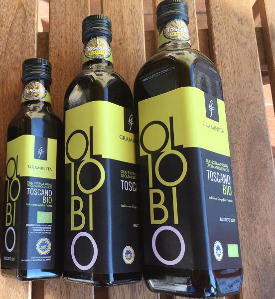 Biologische Olijfolie IGP vanaf 750 tot 250 ml-Organic olive oil IGP from 750 to 250 ml